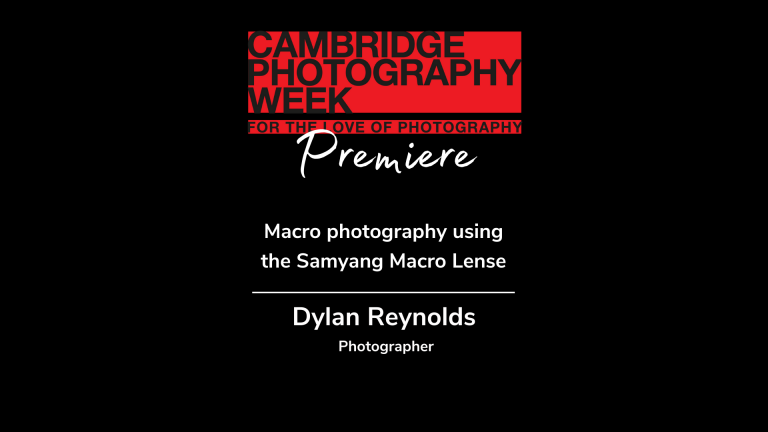 Dylan Reynolds on his kit for macro photography