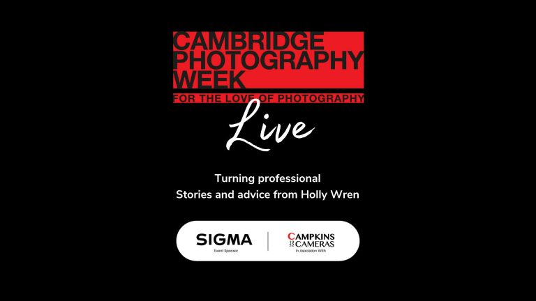 Turning professional: Stories and advice from Holly Wren, Sigma Ambassador, Facebook Live