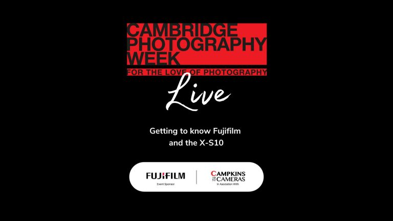 Getting to know Fujifilm and the X-S10, Facebook Live