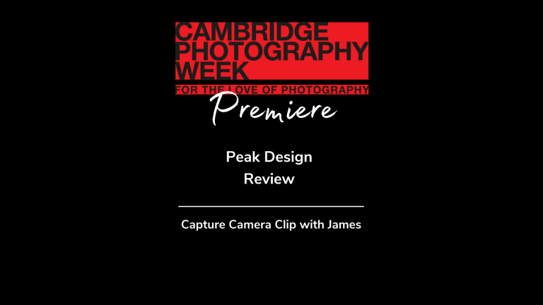 The Peak Design Capture Camera Clip with James