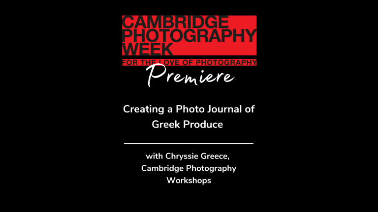 Creating a Photo Journal of Greek Produce with Chryssie Greece
