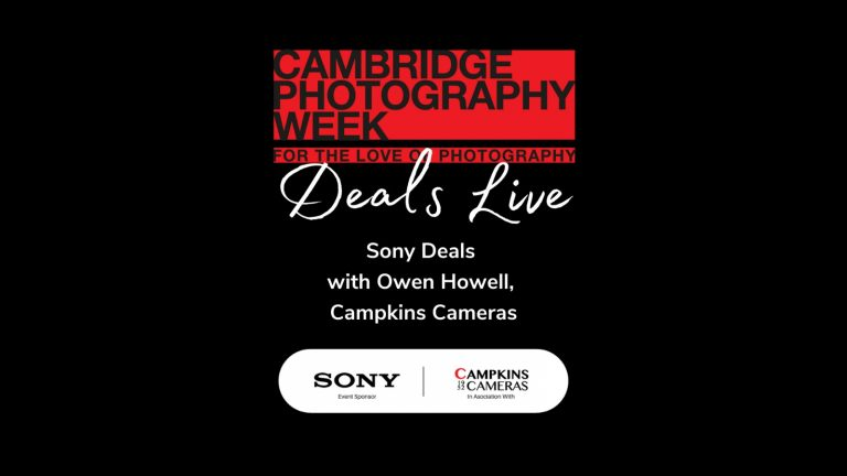 Sony Deals Facebook Live with Owen at Campkins Cameras