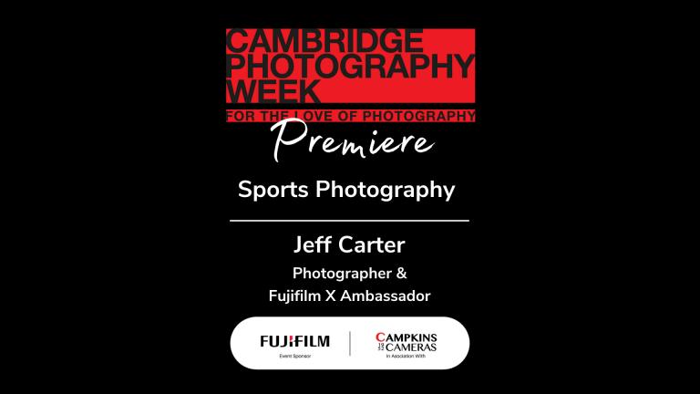 Sports Photography with Jeff Carter, Fujifilm X Ambassador
