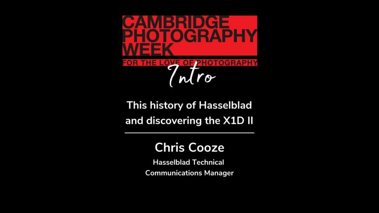 This history of Hasselblad and discovering the X1D II