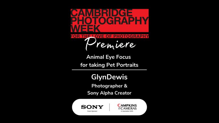 Animal Eye Focus for taking Pet Portraits with Glyn Dewis and Sony