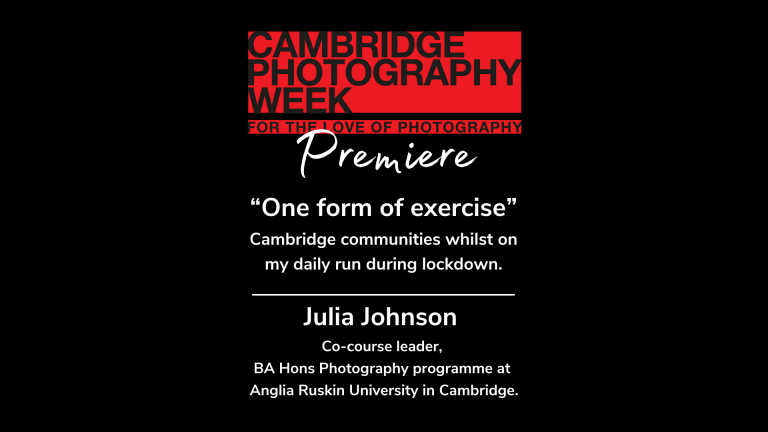 """""""One form of exercise"""". Cambridge communities whilst on my daily run during lockdown."""