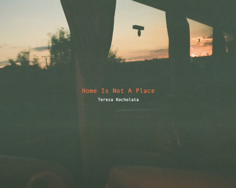 """Home Is Not A Place"""" by Tereza Kocholata, a student at Anglia Ruskin University"""