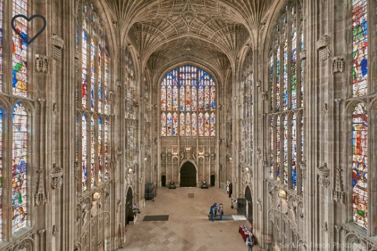Sara Rawlinson's FOCUSED on King's College Chapel