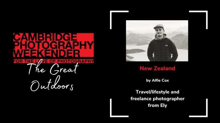 Cambridge Photography Weekender: New Zealand by Alfie Cox
